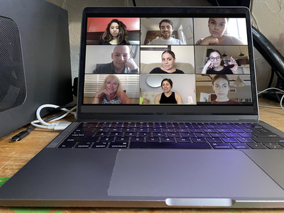 Video conference.